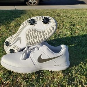 Nike Air Zoom Victory Mens Golf Shoes white silver